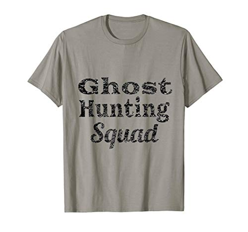 Ghost Hunting Shirts Men's Paranormal Investigating Squad