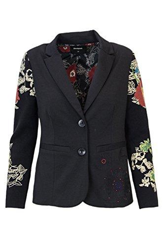 Desigual Jacket Woman AME Boise 18WWEW85 38 (s) Black