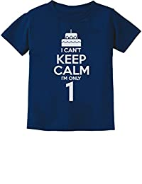 Birthday Cake - I Can't Keep Calm I'm one 1 Year Old Gift Infant Kids T-Shirt