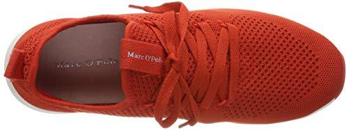 Sneaker red Rosso Ginnastica Marc Basse Da O'polo Scarpe Donna 345 qwgccF5An
