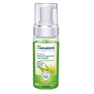 Himalaya Herbals Purifying Neem Foaming Face Wash India 2020
