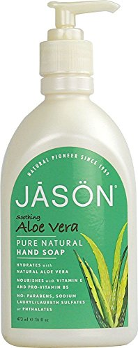 Jason Aloe Vera Hand Soap 16 oz (Pack of 7)
