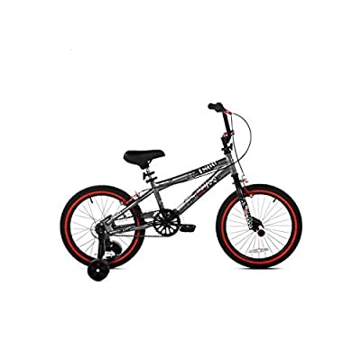 "18"" Kent, Abyss, FS18, BMX, Boys' Bike, Silver by Kent Abyss : Sports & Outdoors"