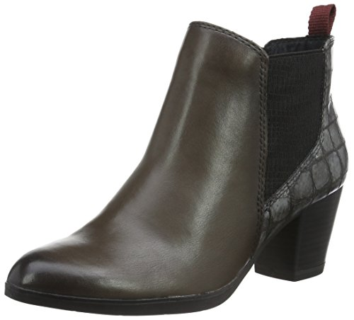 MARCO TOZZI premio WoMen 25385 Ankle Boots Grey (Grey Antic Com 202)