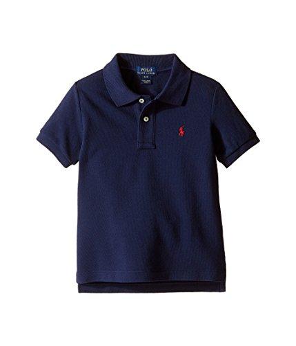 (Polo Ralph Lauren Kids Basic Mesh Polo Toddler French Navy Boy's Short 4T)