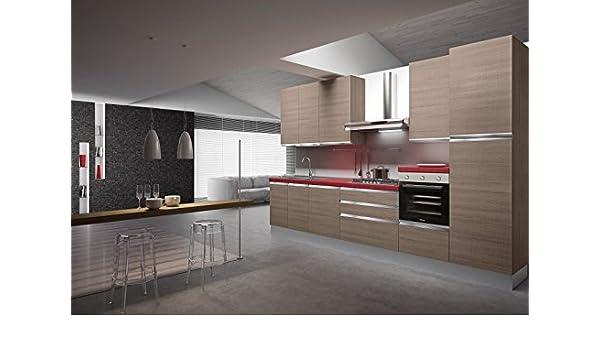 Desconocido Cocina Completa Part L. 360 – p.60 – h.240 + Electrodomésticos Art. va1130: Amazon.es: Hogar