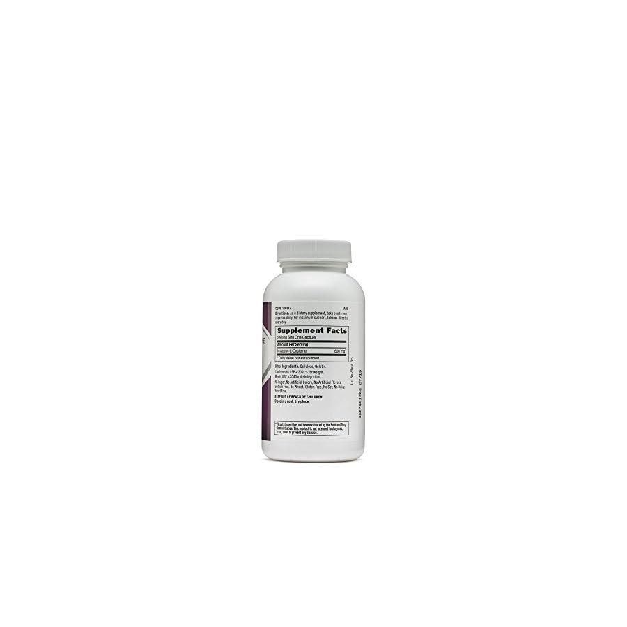 GNC N Acetyl L Cysteine Nac 600 mg, 60 Capsules