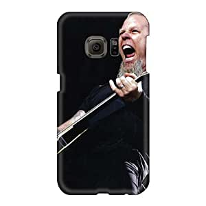 Shock Absorbent Hard Phone Cover For Samsung Galaxy S6 With Support Your Personal Customized High Resolution Apocalyptica Band Image MansourMurray