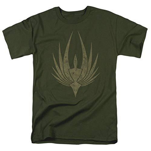 Battlestar Galactica Phoenix Green T Shirt (Large)