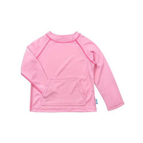i play. Baby Breatheasy Sun Protection Shirt, Light Pink, 18/24mo (Pants Treasure Beach)