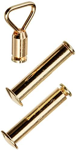Solid 0.5' Arts Brass (Design Toscano Decorative Brass Axe/Sword Hanger)