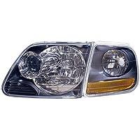 MAPM Premium PERFORMANCE HEAD LIGHT SET; BLACK; PROJECTOR DESIGN
