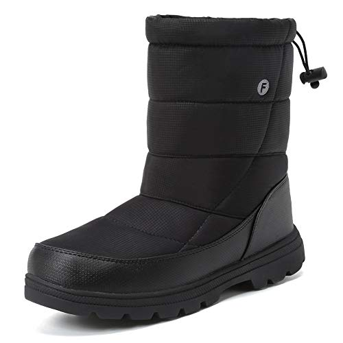 Pictures of Men and Women's Waterproof Snow Boot U118WXZ030 1
