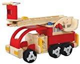 PlanToys Plan Activity Fire Engine  Vehicle (Doll Not Included)