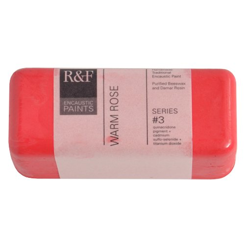 R&F Encaustic 104ml Paint, Warm Rose R&F Handmade Paints 1138