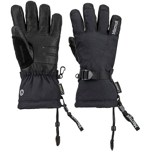 Marmot Women's Randonnee Glove, X-Small, Black
