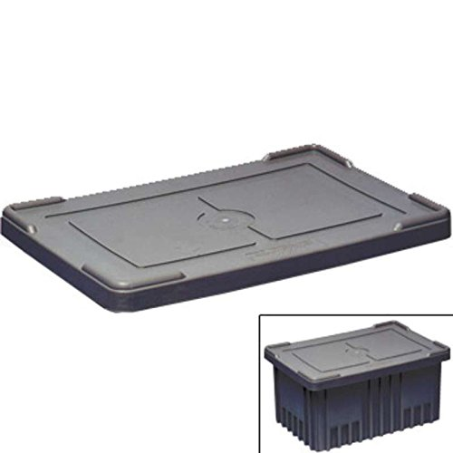 Conductive Tote Box Cover, Heavy-Duty Snap-On Style for DC2000 Series