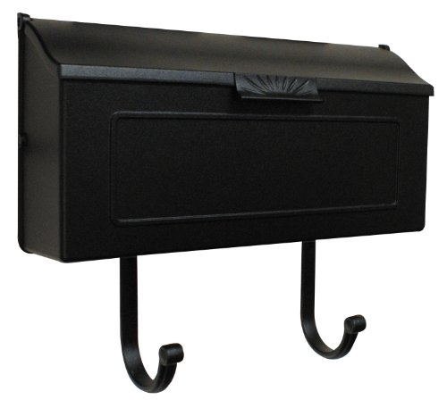 Special Lite Products SHH-1006-BLK Horizon Horizontal Mailbox, Black by Special Lite Products Company, Inc.