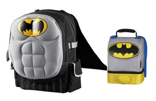 Batman Backpack & Lunch Tote *Both feature Capes*