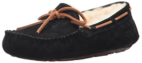 UGG Women's Dakota Moccasin, BLACK, 9 B US by UGG