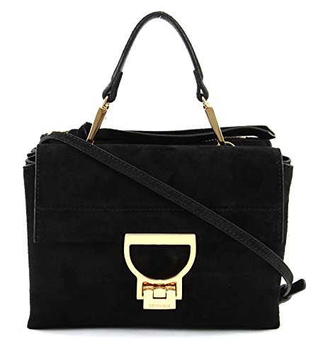 Suede Borsa Arlettis Donna Noir 001 Mini In Coccinelle Cd655b701 awqt8nZ
