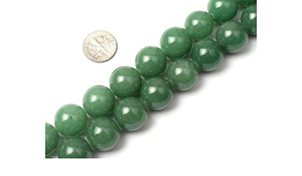 Green Aventurine Beads Strand of 14 Inches