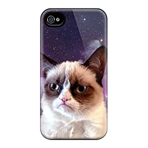 MSM2678NXwH Grumpy Cat Space Durable Diy For Touch 4 Case Cover