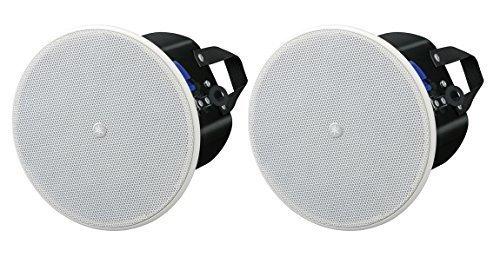 Yamaha VXC4W VXC Series Full-Range 4 Inch Ceiling Loudspeaker - White Pair