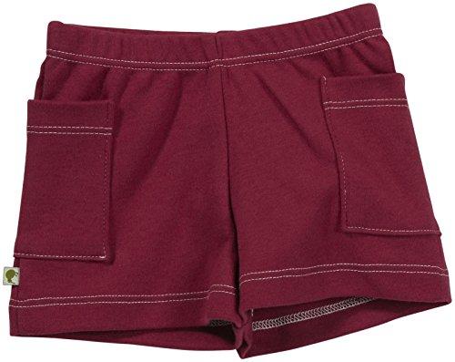 Kiwi Shorts (Baby) - Raspberry-6-12 (Kiwi Cotton Shorts)