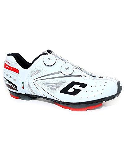 Gaerne G.Kobra Scarpe MTB Ciclismo, White - 41