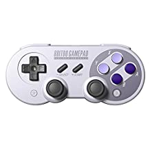 SN30Pro Gamepad, YIKESHU 8Bitdo Wireless Bluetooth Controller Classic Nintendo Gamepad Joystick for Mac, Android and Windows devices (SN30Pro)