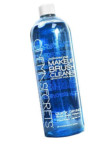 NEW Secrets Professional Quick Drying Makeup Brush Cleaner Spray 32 oz