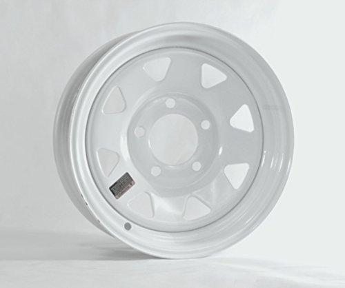 Hole White Spoke - eCustomRim Trailer Rim Wheel 13