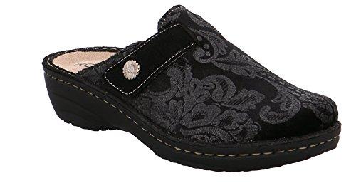 90 schwarz 6172 noir Women's Rohde Slippers wPxCqAXf