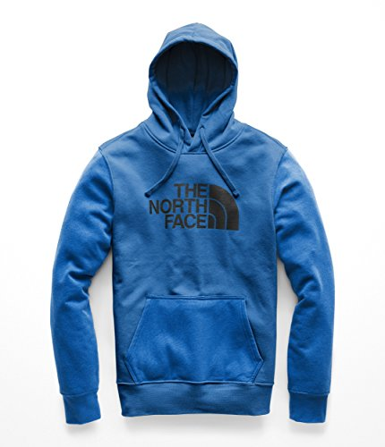 - The North Face Men's Half Dome Pullover Hoodie - Turkish Sea & TNF Black - M