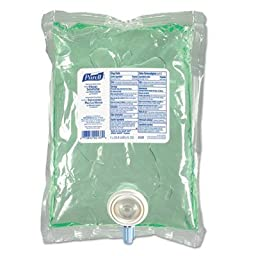 GOJO Industries Products - Hand Sanitizer Aloe Refill, 1000ml, Clear - Sold as 1 EA - Hand sanitizer refill is designed for the Purell NXT Space Saver Dispenser. Instant Hand Sanitizer with Aloe NXT kills 99.99 percent of most common germs that may cause