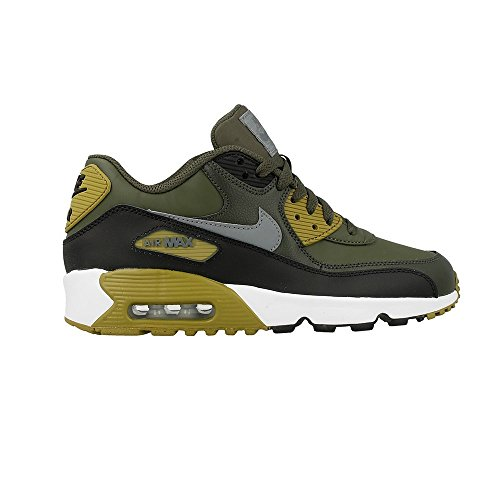 Cool Max Grey Air Shoe Khaki Cargo Kids Big 9 Leather GS Kid's Nike UH7qRR