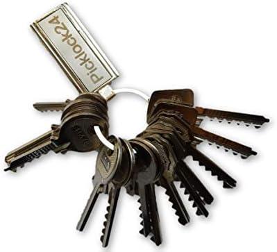 Picklock24. Juego de llaves maestras bumping de serreta válidas ...