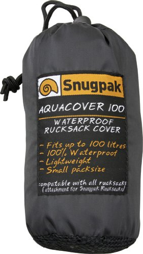 SnugPak Olive Aquacover 100 Waterproof Backpack Cover - 92144 by SnugPak