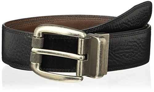 Levi's Men's Feathered Reversible Belt,Black/Brown,36
