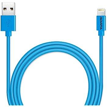 ADATA CABDAT020 Cable Lightning, Color Azul, 1 m