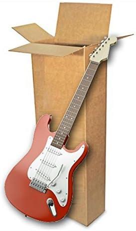 EcoBox E-4237 - Caja de cartón ondulado para guitarra eléctrica ...