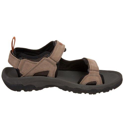 Teva Hombres Katavi sandalia al aire libre nogal