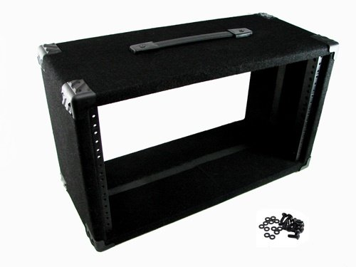Procraft 6U 9'' Deep Equipment Rack 6 Space - Made in the USA - With Rack Screws