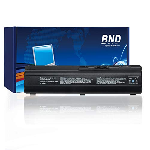 BND Laptop Battery for HP 484170-001 484171-001 484170-002 482186-003 462890-542- 12 Months Warranty [4400mAh 6-Cell]