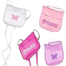Play Kreative Mini Handbag Girl Purse with Strap. 4 Mini Princess Purse handbags