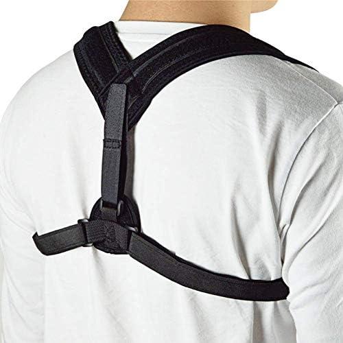 猫背矯正ベルト 脱着簡単 調節可能 サポートの男と背骨、姿勢の理学療法痛みの軽減、背中、肩、首へのスポーツの姿勢の修正 日常 便利 防具 肩こり解消 巻き肩 美姿勢 補正サポーター 子供 大人 男女兼用