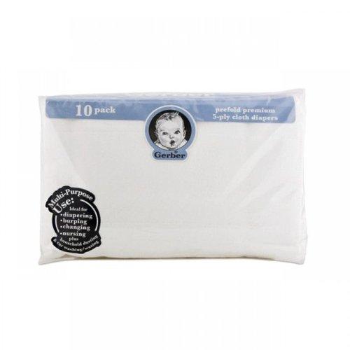 gerber 10 pack cloth diapers - 9