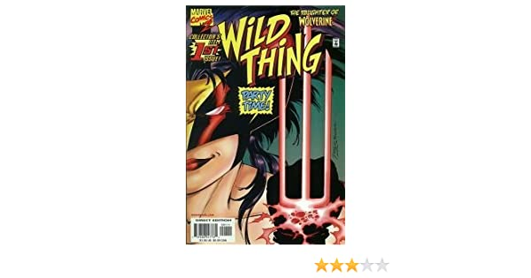 Amazon.com: Wild Thing #1 The Daughter of Wolverine (ALSO INCLUDES HER FIRST APPEARANCE COMIC! Both issues FIRST PRINTS!, Volume 1): Books