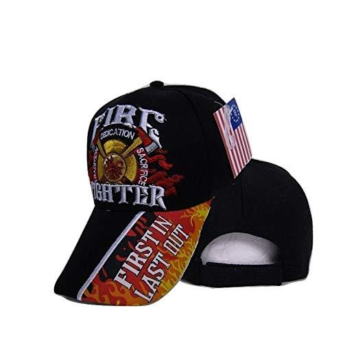 (RFCO Fire Fighter Dept Department Tradition Dedication Sacrifice FILO Emb Cap Hat)